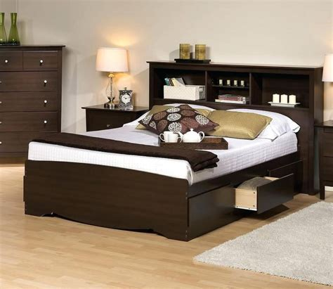 full size storage bed with bookcase headboard free interior album of full size storage bed with bookcase