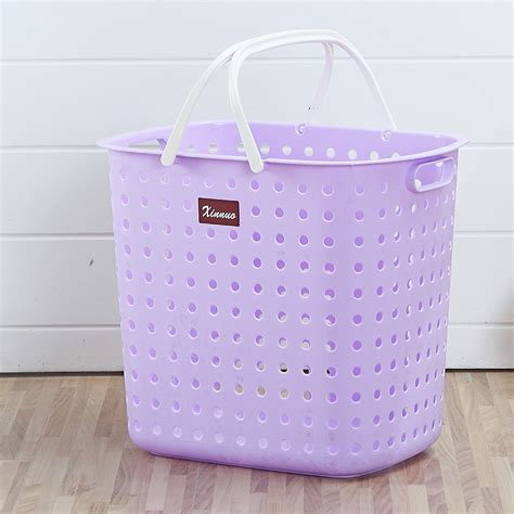 collapsible laundry purple collapsible plastic laundry basket laundry