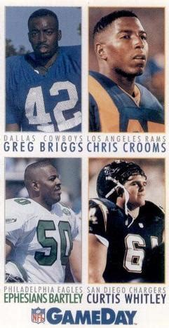 the trading card database | los angeles rams gallery 1992