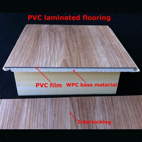 pvc laminate flooring china 7mm popular wpc laminate flooring pvc laminated flooring decorative flooring waterproof