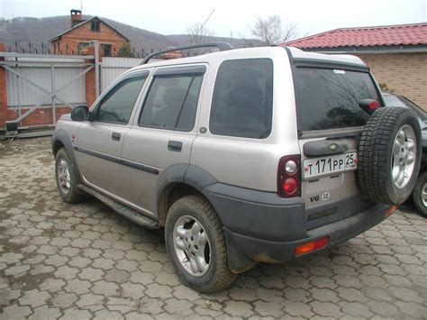 how to work on cars 2001 land rover discovery series ii electronic valve timing 2001 land rover freelander pictures 2 5l gasoline automatic for sale