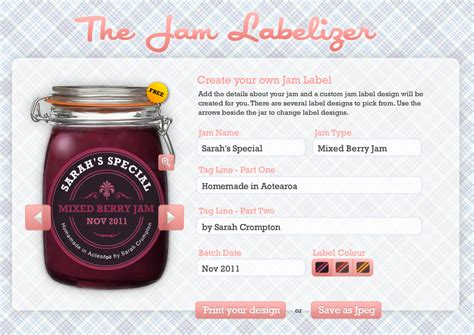 free printable jam label 8 best images of diy printable labels free printable