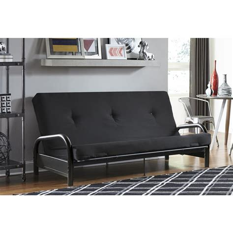 dhp premium westbury navy futon 2108629 the home depot