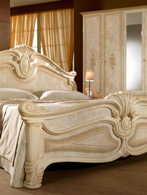 italienisches bett italienisches schlafzimmer rokko luxus 6 tlg bett komplett