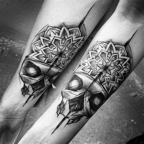 matching couple skull tattoos collection of 25 matching skull designs for couples