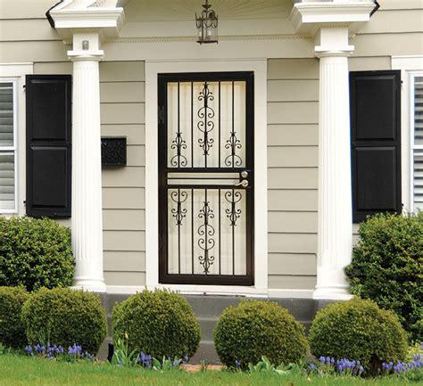 Modern Craftsman House by Larson Storm Doors Security Storm Doors