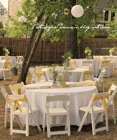 backyard receptions on a budget 1000 images about backyard weddings on pinterest