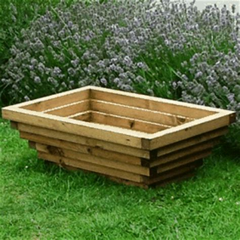 wooden garden planters the longbottom