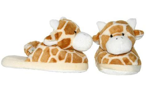 giraffe print slippers animal slippers for baby and toddlers modern baby