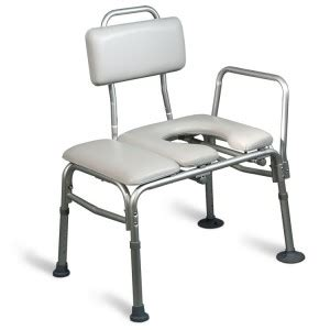 aquasense transfer bench aquasense padded bathtub transfer bench with commode