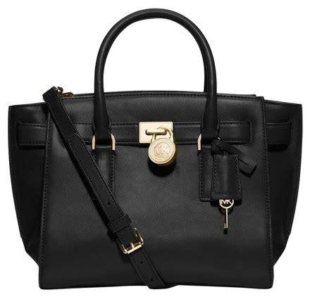 Jual Tas Michael Kors Hamilton Traveller Black Original Asli michael kors hamilton traveler large leather handbag tote black satchel on sale 19