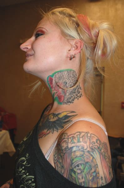 womens tattoo photo gallery chicken neck tattoo marked for life female tattoo