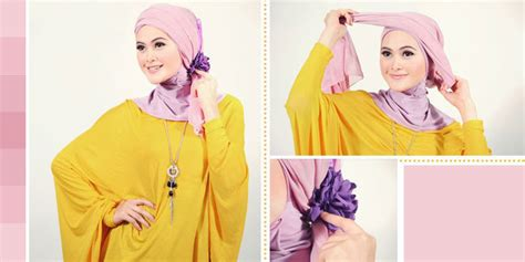 Depok Jilbab Segi Empat By Eq cara memakai jilbab modis yuk