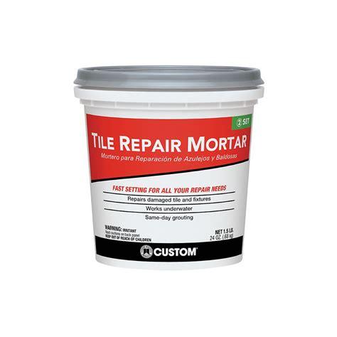 Custom Product custom building products 1 5 lb white tile repair mortar