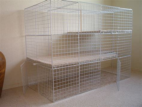 Low Cost House Plans by Indoor Cages Rabbits Indoors