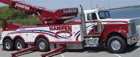 ton jerr  rotator hanifen  des moines ia tow truck pinterest tow truck