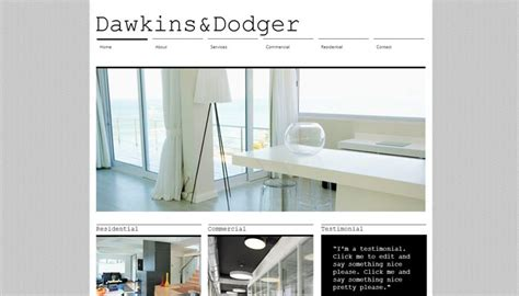 architectural design websites 20 architecture portfolio templates for architect websites
