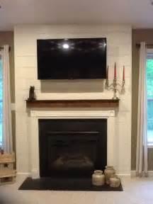 Shiplap Mantle Shiplap Fireplace Surround With Cedar Mantle