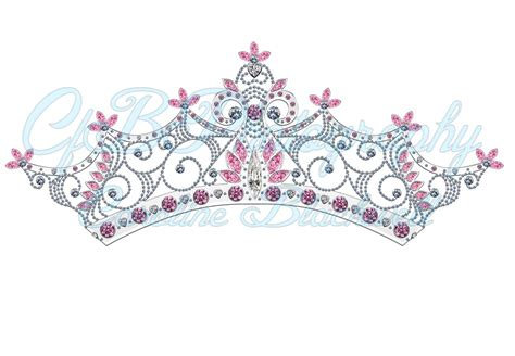 Crown 4 In1 Baby Machine 7 princess crowns png files instant from