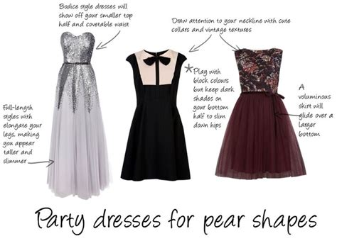 clothes for pear shaped how to pick a dress for your party dresses dress for a pear shaped body pinterest