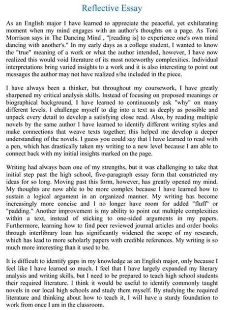Higher Reflective Essay higher reflective essay xyz