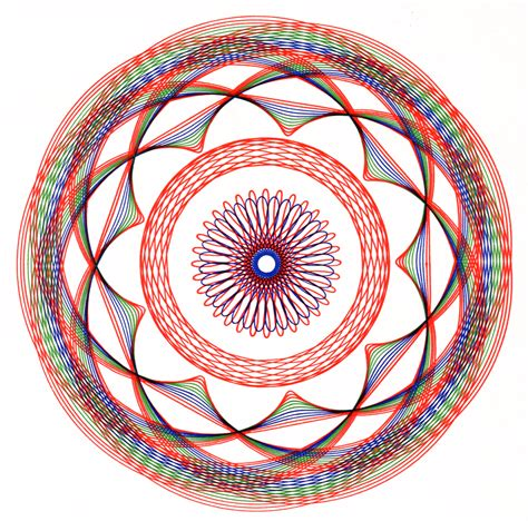 spirograph pattern booklet scans from how to draw with spirograph 1967 present correct