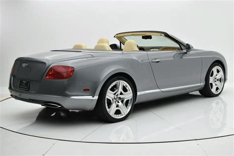 2012 bentley continental gt w12 convertible