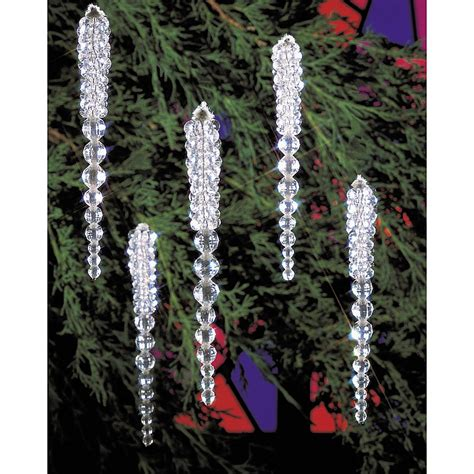 icicle christmas ornaments buy icicle christmas ornament