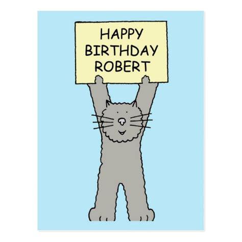 imagenes de happy birthday robert robert happy birthday postcard zazzle
