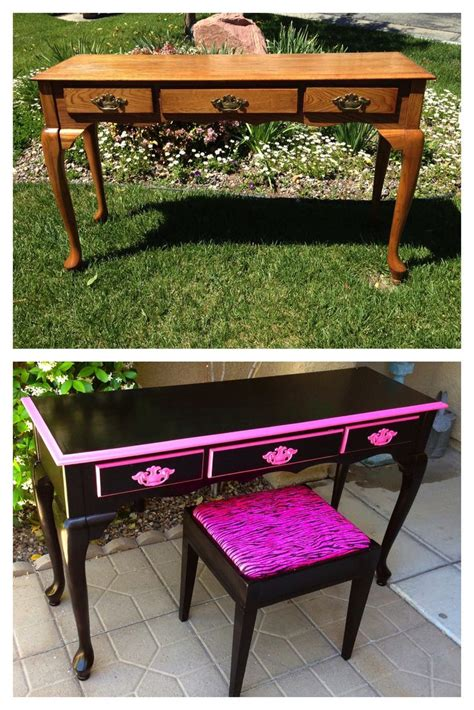 Refurbished Furniture Before And After by Vintage Shabby Refinished Painted Before And After