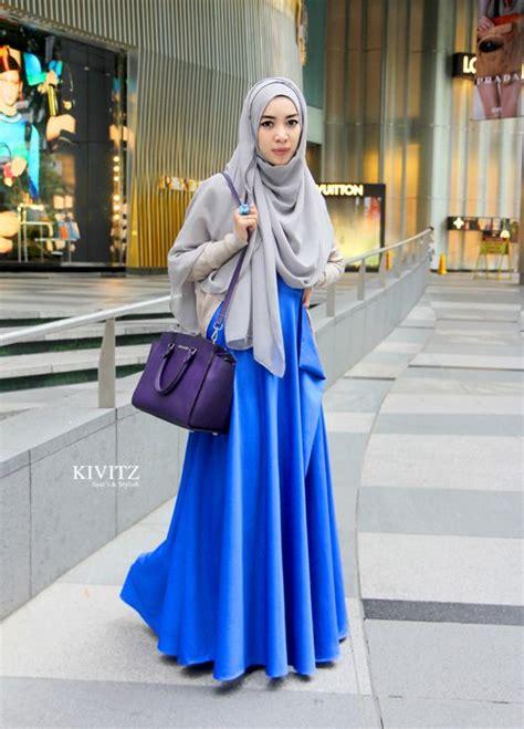 Veco026 Aisyah Syar I Grey one day trip to singapore kivitz modesty
