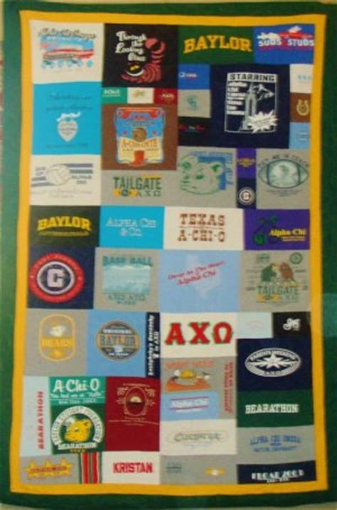 T Shirt Quilt Dallas by Custom T Shirt Quilts Dallas Fort Worth