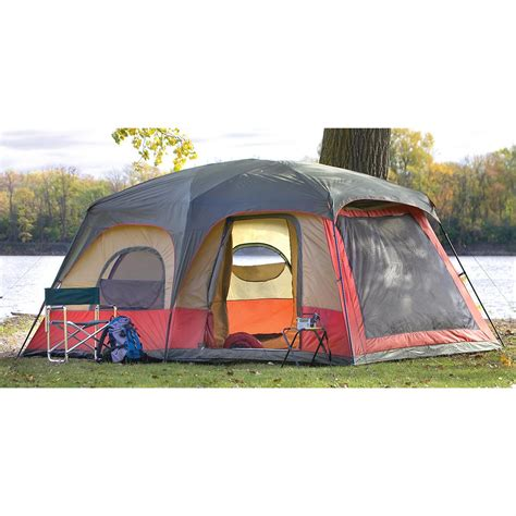 Cabin Dome Tent by Guide Gear 174 Great River Cabin Dome Tent 151367 Cabin