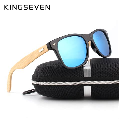 New 2016 Bamboo Sunglasses Wooden Glasses Brand Designer Ori 2016 new bamboo polarized sunglasses wooden sun