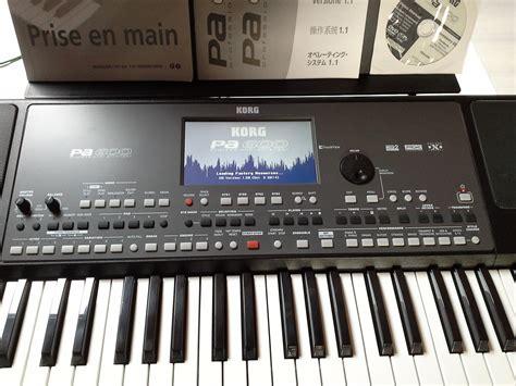 Keyboard Korg Pa600 Baru korg pa600 image 1569748 audiofanzine