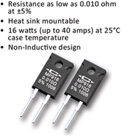 power sense resistor caddock current sense resistors non inductive designs high stability surface mount