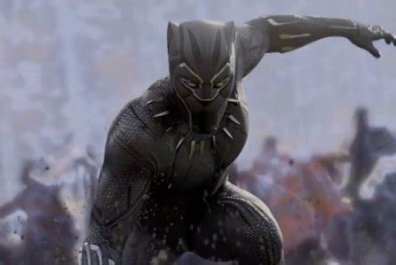 'black panther' to wave off 'death wish' & eat 'red