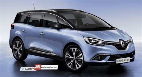 renault grand scenic 2016 scoop nouveau renault grand scenic 4 7 places 2017