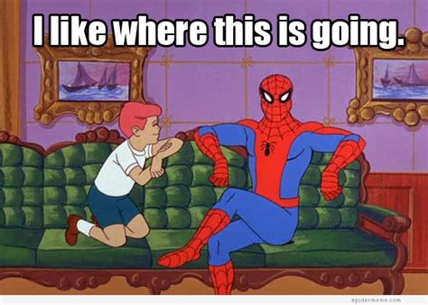 Spiderman Cartoon Meme - meme round up 60s spiderman byt brightest young things
