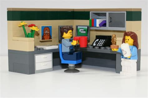 lego office lego ideas cubical world