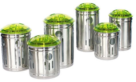 Storage Canisters For Kitchen by Stainless Steel Kitchen Storage Container Contemporary