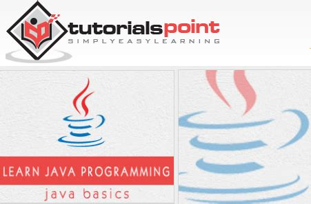 tutorialspoint for java java基础教程 tutorialspoint java