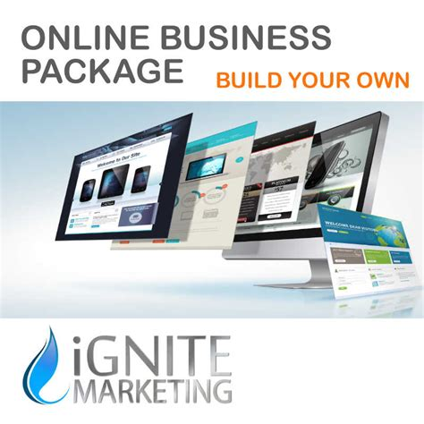 build your home online online business package build your own ignite marketing