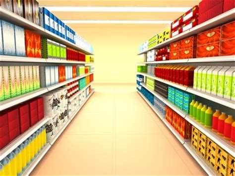 Shopping Shelf by Augmented Reality And Grocery Shopping