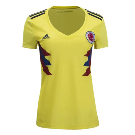 Jersey Kolombia 2018 World Cup 2018 colombia 2018 world cup home shirt soccer jersey dosoccerjersey shop