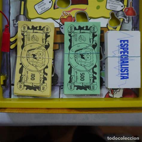 operacion bob esponja mb  comprar juegos de mesa