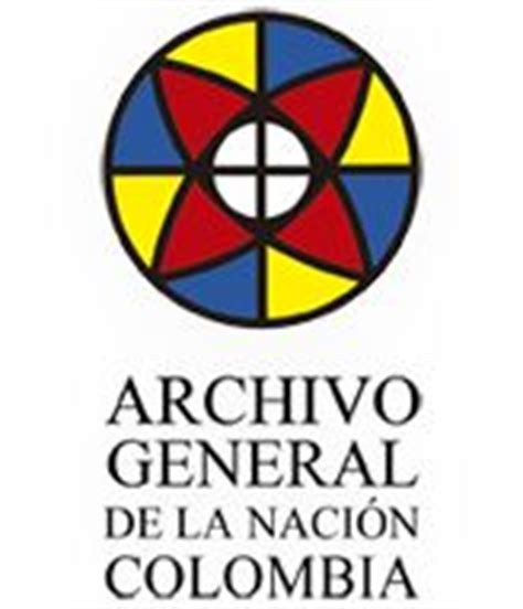 archivo general de la nacion archivo general de la logo archivo general de la naci 243 n genealogy pinterest