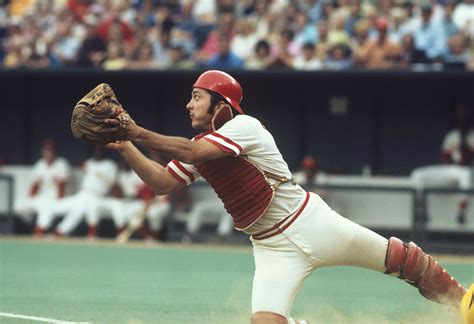 johnny bench rare si photos of johnny bench si com