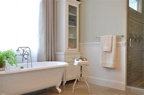 beadboard bathtub beadboard bathroom traditional with gallery wall beadboard