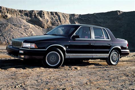 chrysler lebaron 94 1990 94 chrysler lebaron sedan consumer guide auto